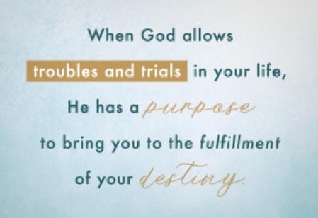 purpose in our struggles